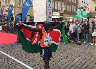 Volksbank Muenster Marathon:Justus Kiprotich