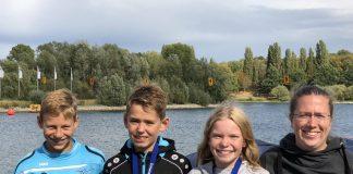 Jolina Widders und Maximilian Kassenbrock gewinnen GOLD-Medaille auf 2.500m, BRONZE Medaille an Moritz Brinkmann