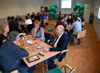In angenehmer Atmosphäre kamen beim Polit-Talk Vertreter von münsterischen Vereinen aus Politik und Verwaltung ins Gespräch.