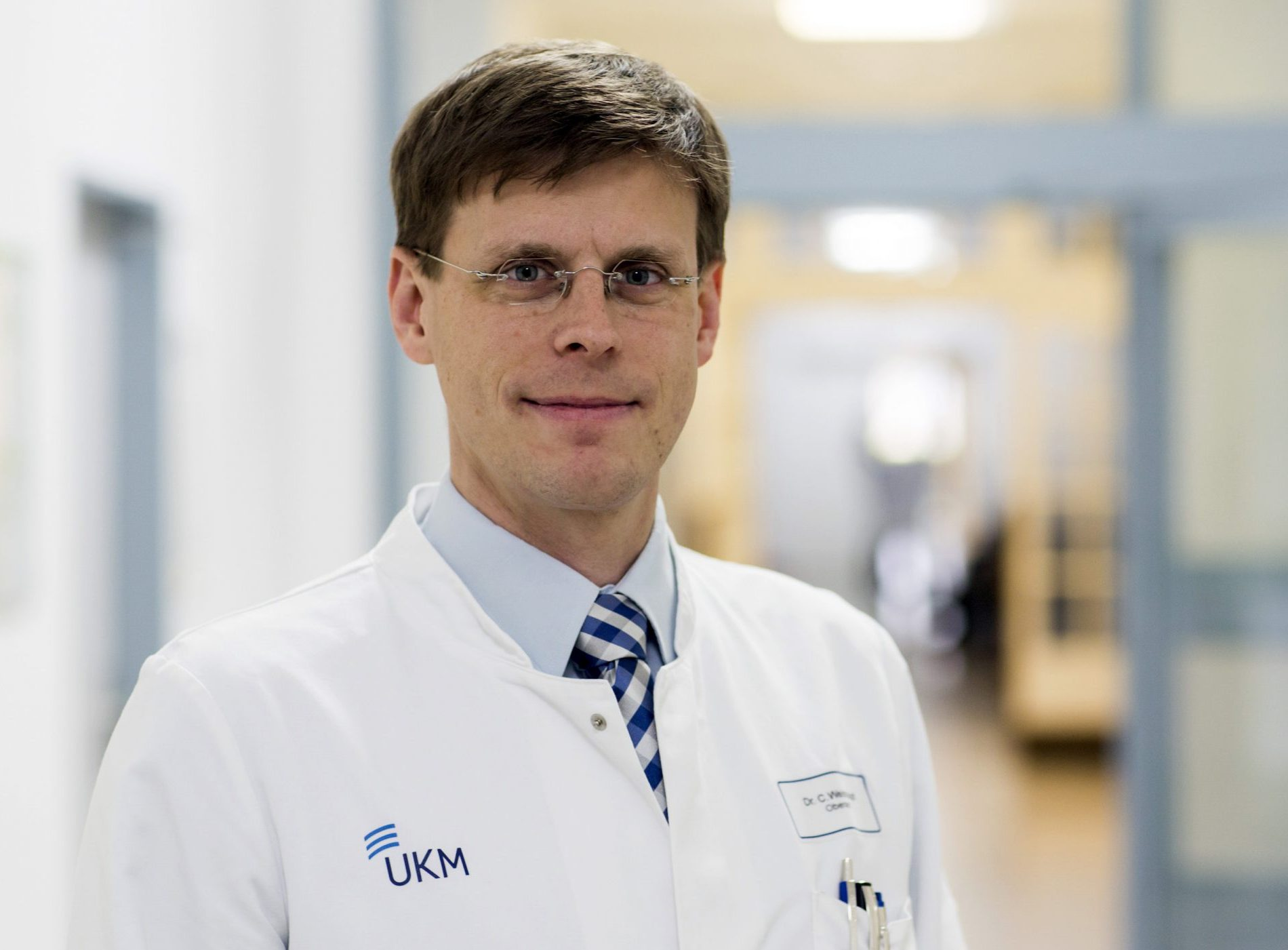 Dr. Carsten Weishaupt, Leiter des Hauttumorzentrums am UKM