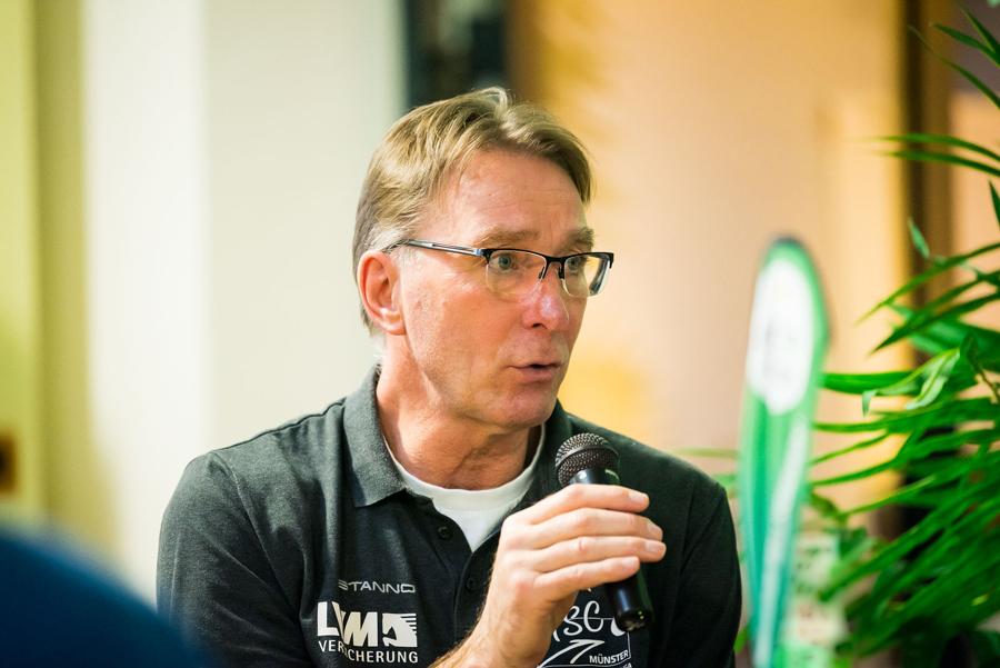 USC-Cheftrainer Teun Buijs