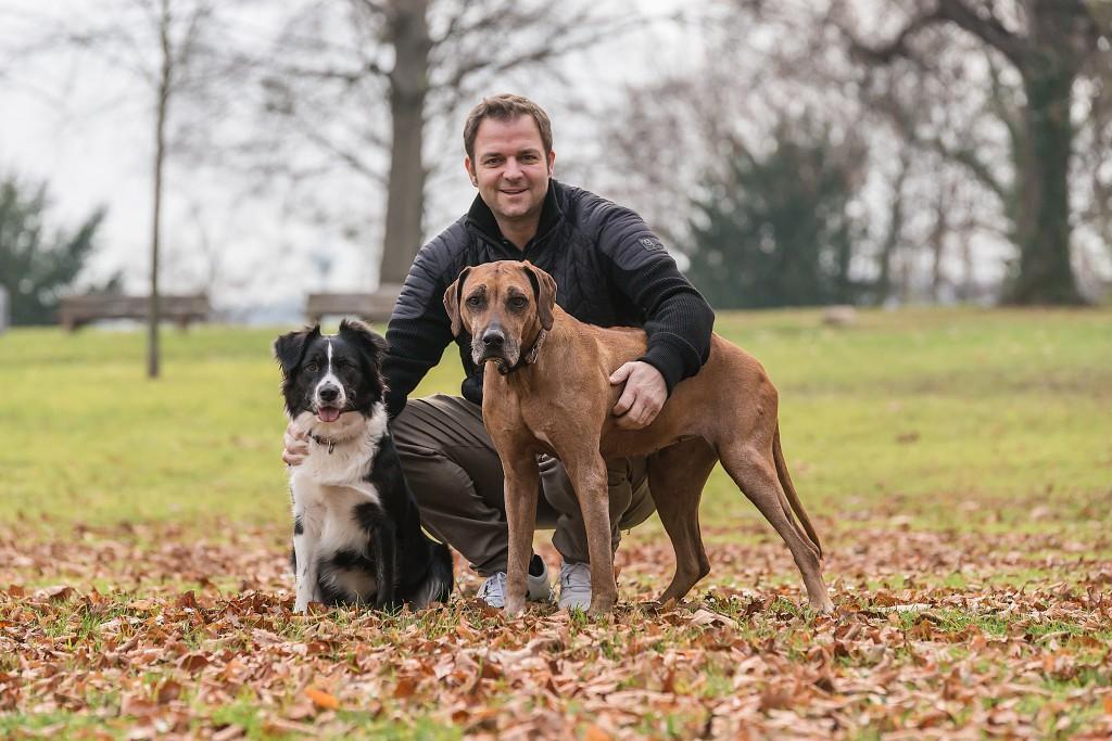 Martin Rütter und Hunde