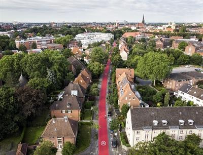 Goldstraße in Münster