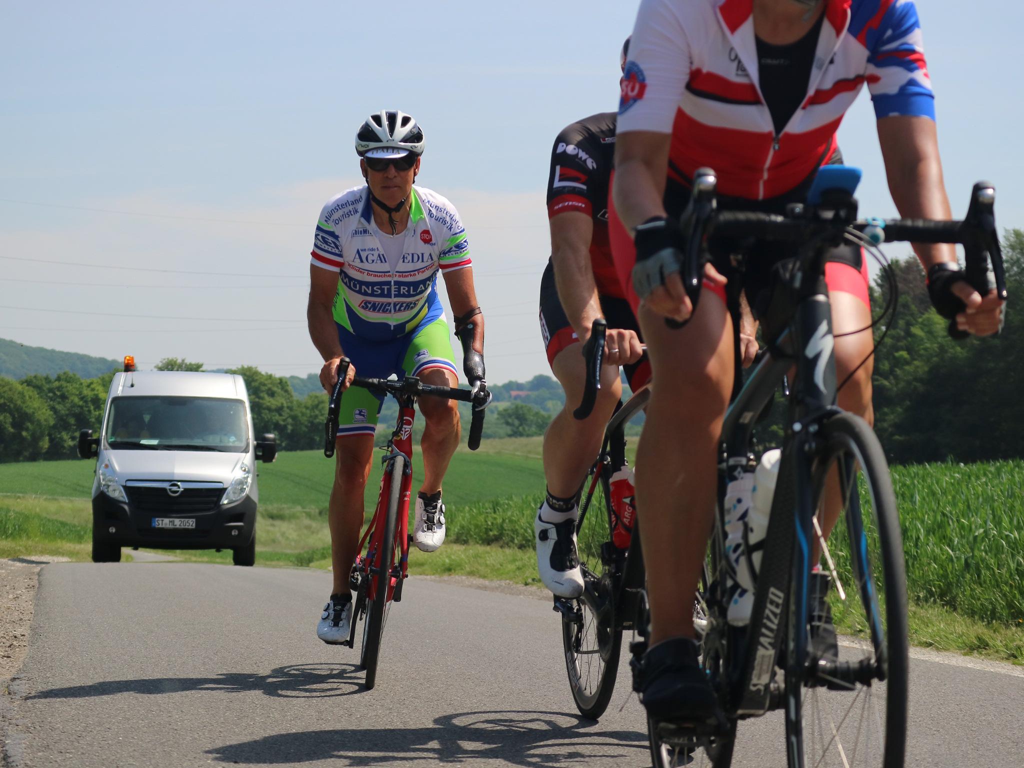 Rennradfahrerinnen